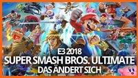Super Smash Bros. Ultimate: Das ändert sich