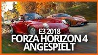 Forza Horizon 4: Unser erster Eindruck vom Open-World-Racer