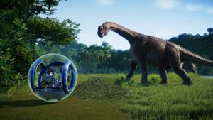 Jurassic World Evolution im Test: Lizenz-Gurke oder Aufbau-Spaß?
