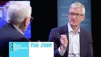 Apple-Chef Tim Cook spricht über Apple Watch, Börse, Steve Jobs –und Präsidentschaftsambitionen