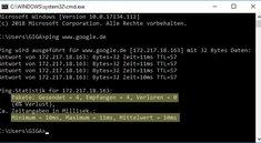 Ping-Test in CMD (Windows) ausführen – so geht's