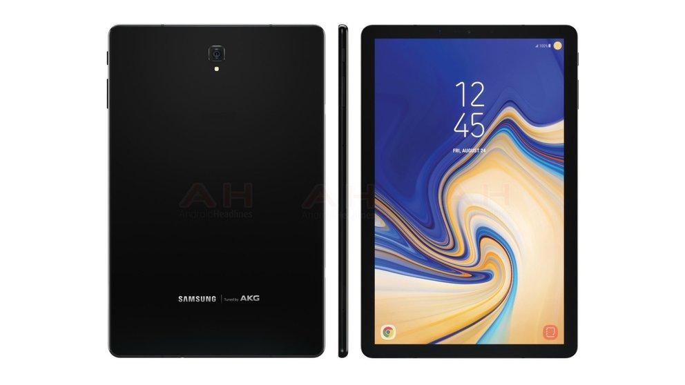 Galaxy Tab S4: Erstes Foto zeigt Samsungs iPad-Pro-Alternative