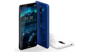 Nokia X5 vorgestellt: Auf den Spuren des iPhone X