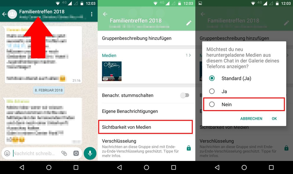Whatsapp Gruppe Verstecken
