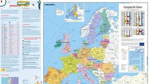 Europakarte 2018/2019