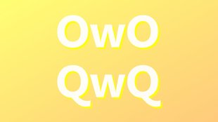 OwO, QwQ: Bedeutung der Smileys im Chat & Netz