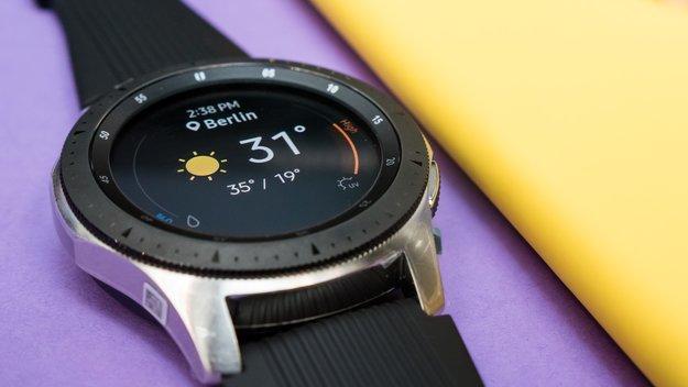 Samsung Galaxy Watch: Smartwatch-Update behebt viele Probleme