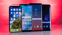 Apples iPhone Xs Plus und iPhone Xc vs. Galaxy Note 9: Überraschung im Größenvergleich der Handy-Neulinge