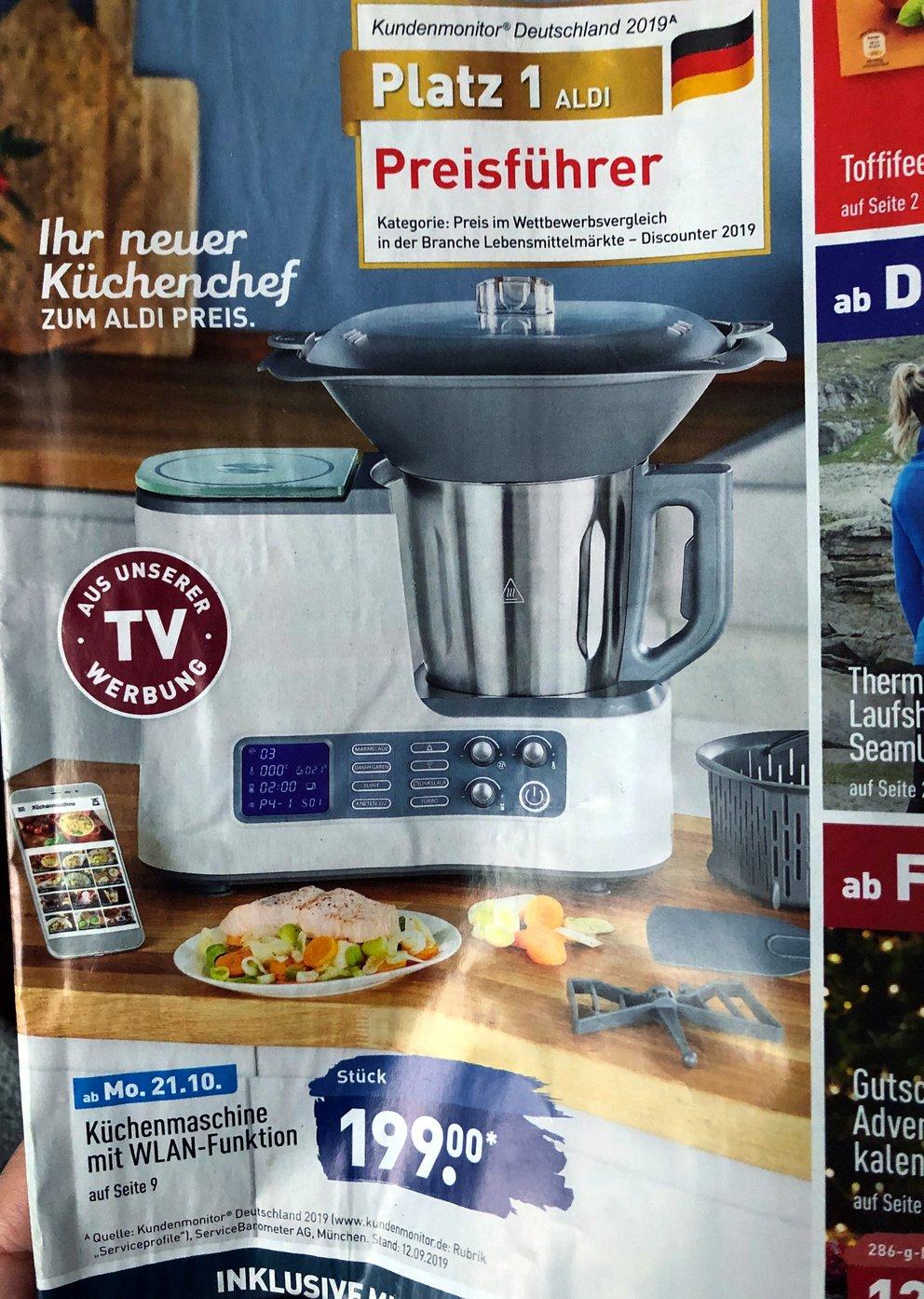 Aldi Quigg Küchenmaschine 2021