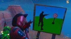 Fortnite: Alle Schießstände auf der Map (Season 7, Woche 10)
