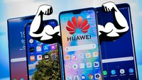 So fies macht sich Huawei über das Samsung Galaxy S10 lustig
