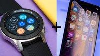 Samsung Galaxy Watch: iPhone mit der Smartwatch verbinden – geht das?