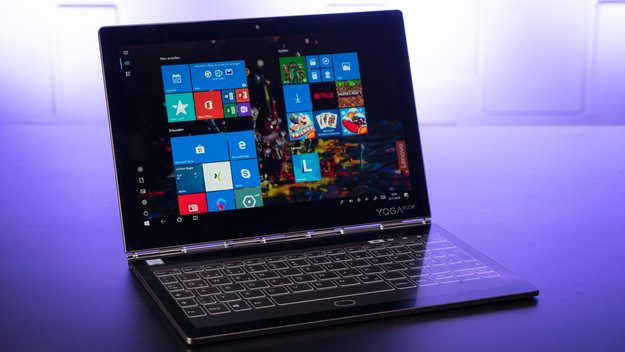 Lenovo Yoga Book C930 im Test: Notebook, Tablet und eBook-Reader in Einem