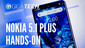 Nokia 5.1 Plus im Hands-On