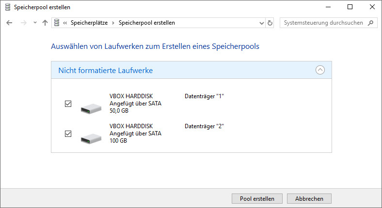 Windows 10 Festplatten Zusammenfügen