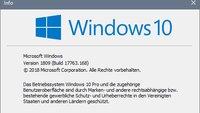 Wie lautet die aktuelle Windows-10-Version?