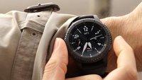 Samsung Gear S3 im Preisverfall: Smartwatch wieder günstig bei Amazon erhältlich (vergriffen)