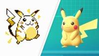 So sehr haben sich Pokémon seit den ersten Spielen verändert