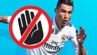 Jetzt verbannt EA Cristiano Ronaldo auch noch vom FIFA 19-Cover