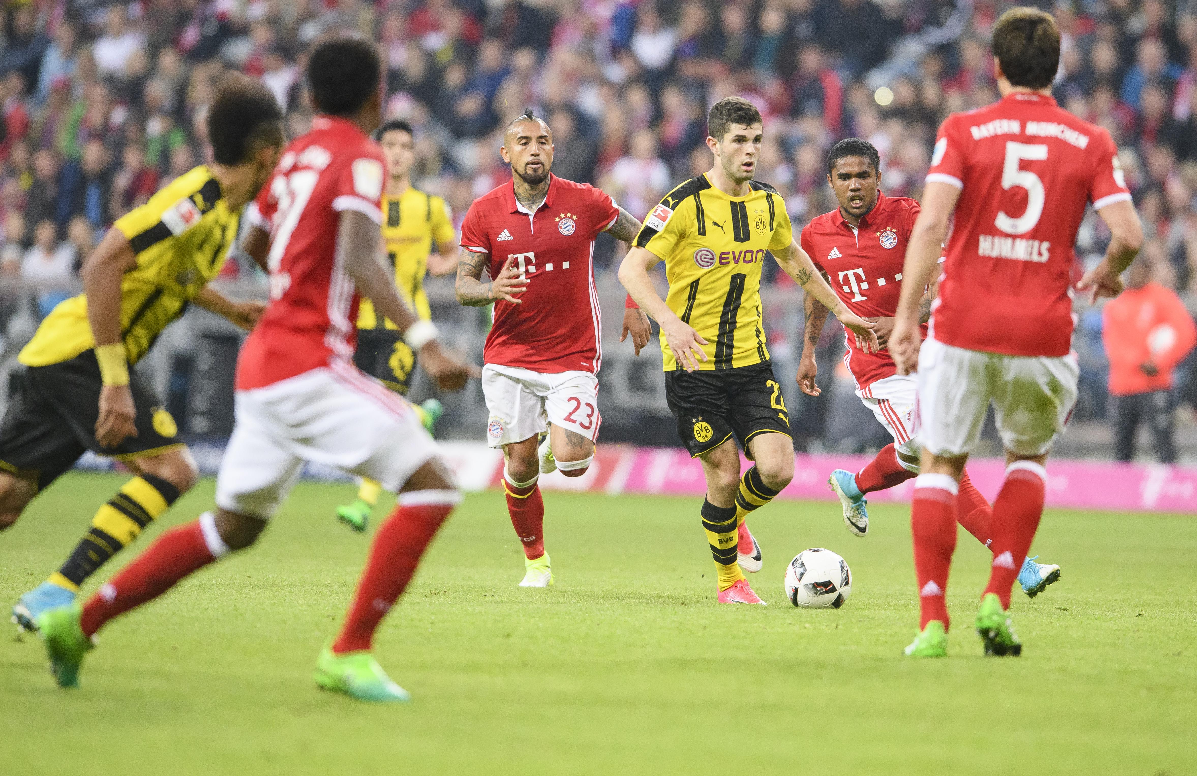 Sky mit Problemen beim Spiel Bayern München gegen Dortmund