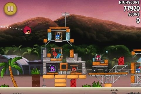 """Angry Birds Rio-Update """"Airfield Chase"""" ist da"""