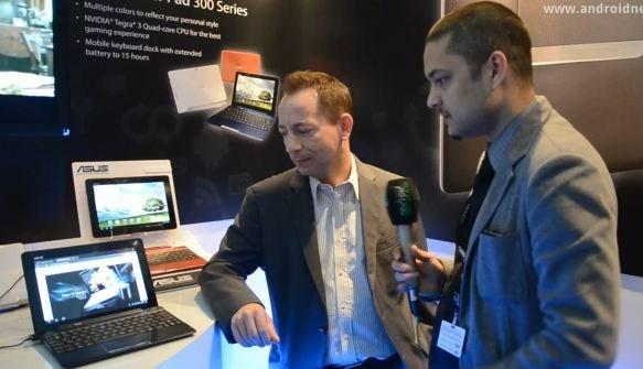 ASUS Transformer Pads: Infinity, 300 Series und Padfone vorgestellt [MWC 2012]