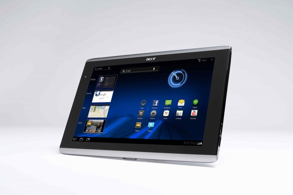 Acer Iconia Tab A500: Android 3.1-Update rollt aus