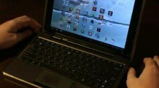 Asus Eee Pad Transformer: Tastatur-Dock im Blickpunkt