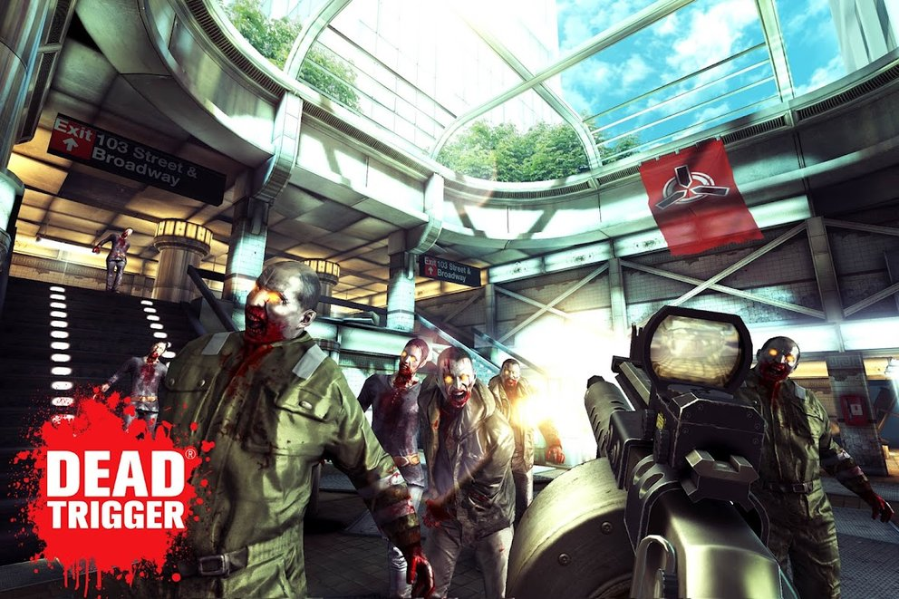 """Dead Trigger: Die Zombiekalypse im Test oder """"Ich sehe (un-)tote Menschen!"""""""