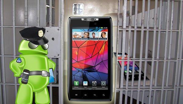 Motorola RAZR schon gerootet