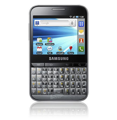 Samsung Galaxy Pro: Konkurrenz für BlackBerry