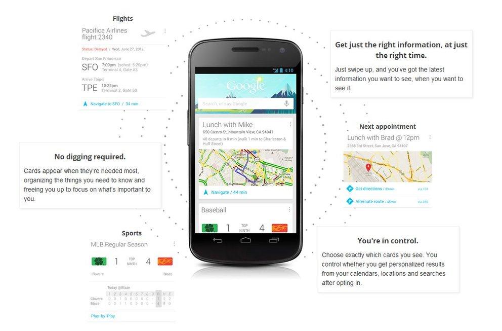 Google Now: Zur Innovation des Jahres gekürt