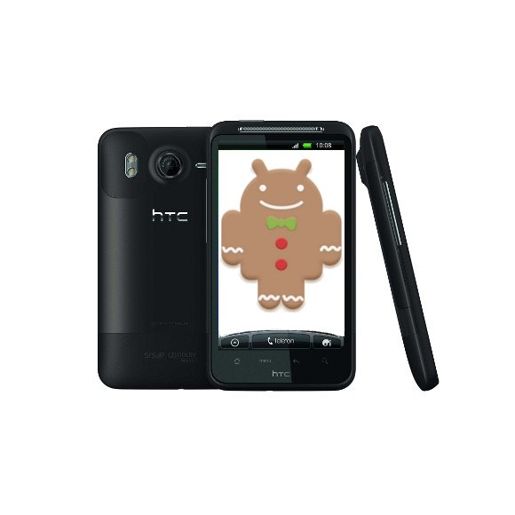 HTC Desire HD: Gingerbread Update wird ausgeliefert [Update: auch Incredible S]