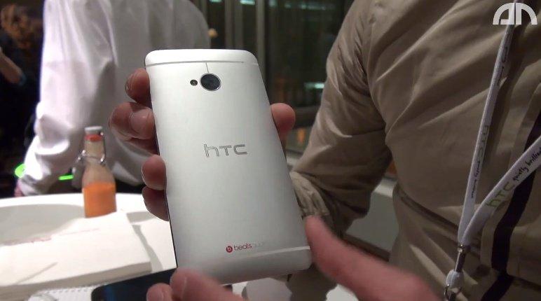 HTC One: Hands-On-Video zur Hardware von der Deutschland-Präsentation