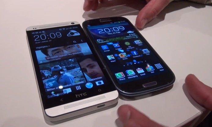 HTC One vs. Samsung Galaxy S3: Video-Vergleich