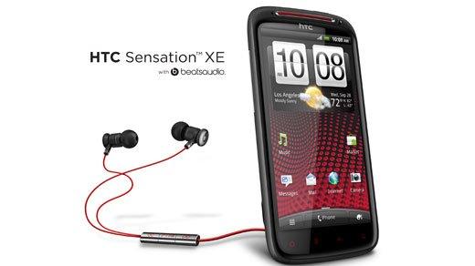 HTC Sensation XE - Audiogenuss dank Dr. Dre