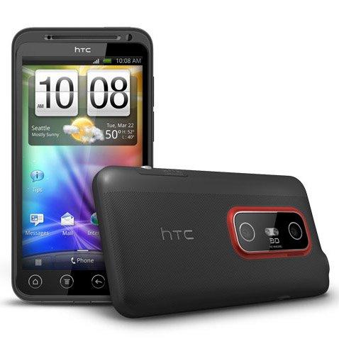HTC EVO 3D: Übertaktet auf 1,8 GHz, weißes Cover im Eigenbau