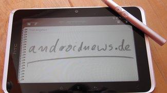 HTC Flyer: Testbericht zum Tablet mit Stift