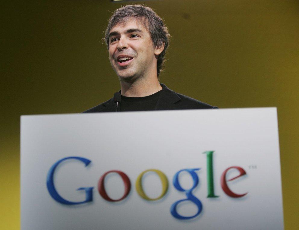 Google-Quartalsergebnisse: Rekordumsatz, Larry Page verspricht bessere Akkulaufzeiten
