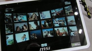 MSI Wind 100A: Noch ein Honeycomb-Tegra 2 Tablet [CeBIT 2011]