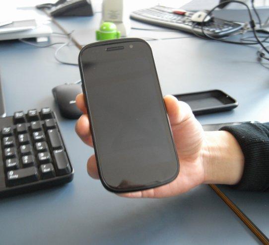 Nexus S auf Kurzbesuch bei androidnews.de