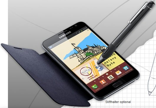 Samsung Galaxy Note: Hinweise zur 10.1-Version aufgetaucht