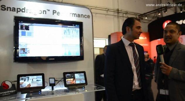 Snapdragon S4: Hamid-Reza Nazemann über den Krait-Chip [MWC 2012]