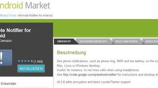 Remote Notifier: Android-Notifications auf dem Desktop