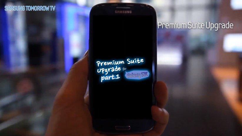 Samsung Galaxy S3: Premium Suite im Video