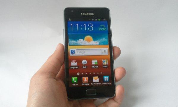 Samsung Galaxy S II: Überraschungsgast im Unboxing
