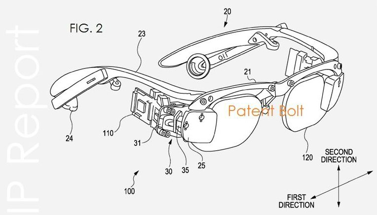 Sony: Patentantrag auf Google Glass-ähnliche Brille