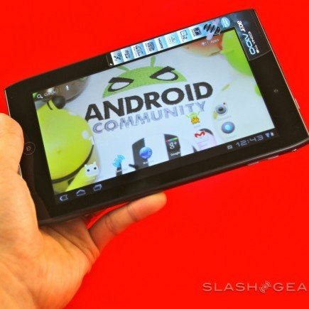Acer Iconia A100: Erstes 7 Zoll-Honeycomb-Tablet im Video