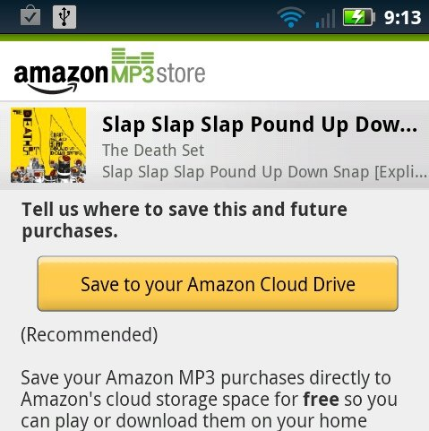 Amazon Cloud Player: Musik-Streaming für Android &amp&#x3B; Webbrowser