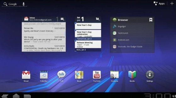 "Android 3.0: Google präsentiert ""Honeycomb"" im Video"